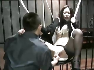 bdsm asian Japanese Office Woman of Torture