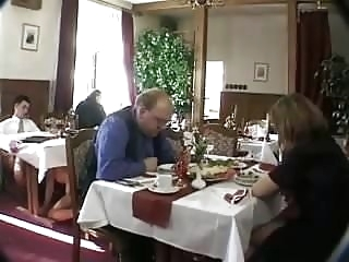 public nudity anal restaurant