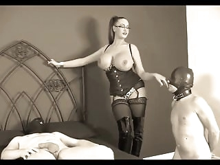 bdsm bbw Busty Mistress & 2 Slaves #1 (Recolored)