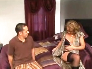 blowjob blonde My Theatre troupe hot sexy mom