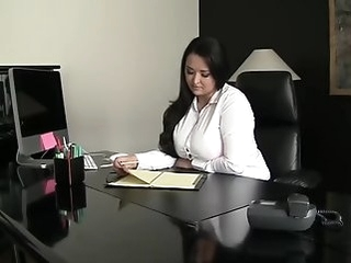 russian big tits office fuck
