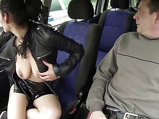 blowjob amateur Czech Cops Watching Whore with Client