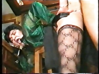 stockings vintage Anal Fever 1990 Lesbians , Anal ,Strapon , DP, Stockings