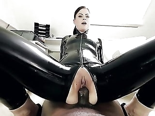 black and ebony anal Horny German Girl Rides Big Black Cock