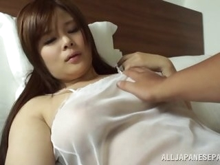 japanese asian Japanese AV Parcel out is a hot milf nearly perfect lingerie