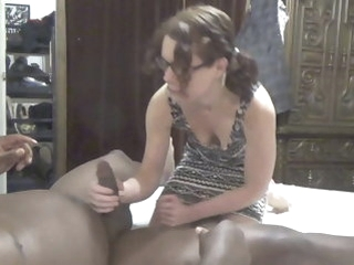 milf interracial nympho bbc cumslut gets fucked and sucks bbc squeezes cum in