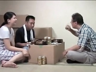 threesome asian the husband knew everything