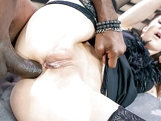 blowjob anal LETSDOEIT Xtreme Rough Anal With BBC For Hot Teen Lina Luxa